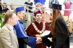 Rozdanie dyplomów 2013