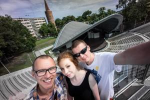 Studenci UO w Opolskim Amfiteatrze