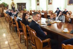 Spotkanie z dyrektorami szkół ponadgimnazjalnych
