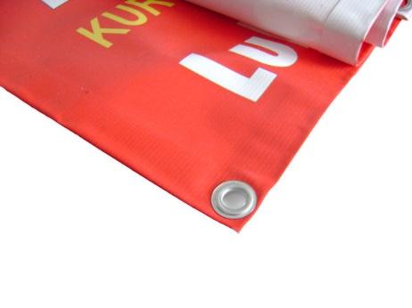 Baner z logo 1/2m