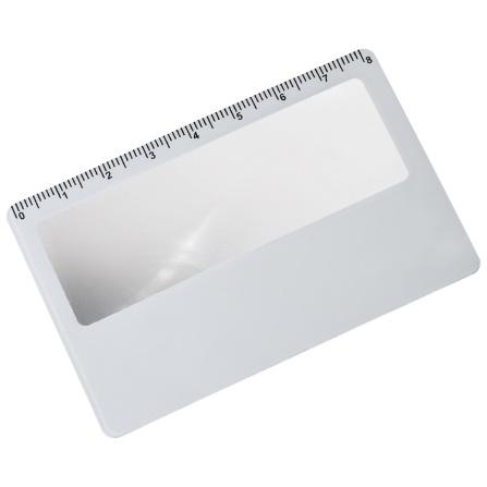 Szkło powiększające w formie karty kredytowej