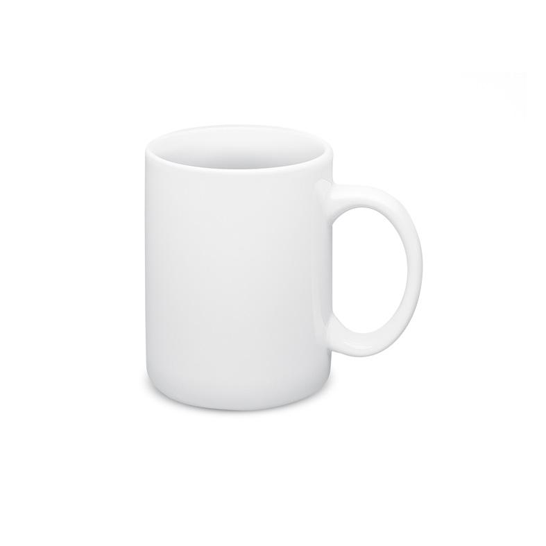 Kubek wykonany z białej ceramiki