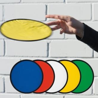 Frisbee o składanej konstrukcji z logo